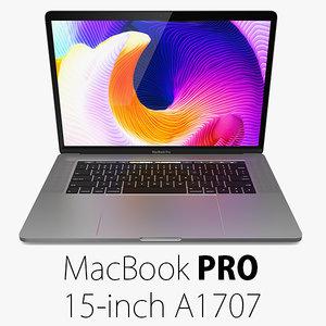 obj macbook pro 15 touch