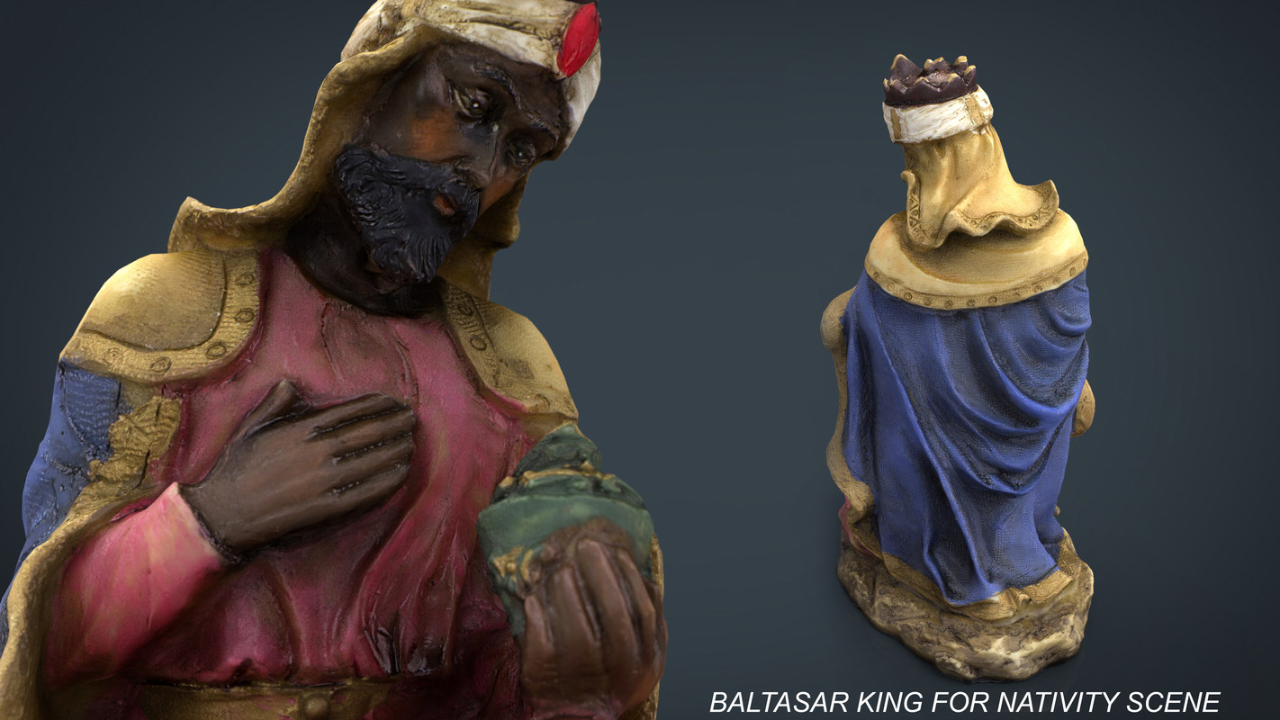 baltasar king 3d model