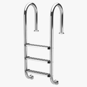 3d model pool ladder 2