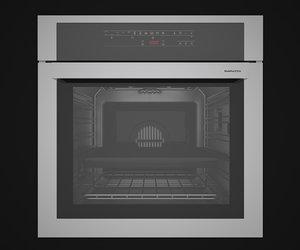3d model barazza oven c4dvray