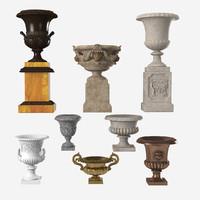 Garden Urn Set