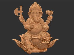 ganesh ganesha 3d model