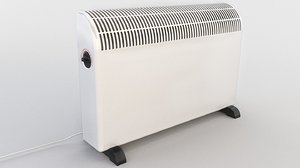 electric heater radiator 3D