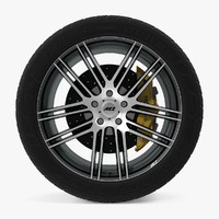 AEZ Cliff Dark Disk Car Wheel