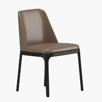 3d poliform grace chair