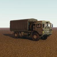 man hx60 6 truck 3d obj