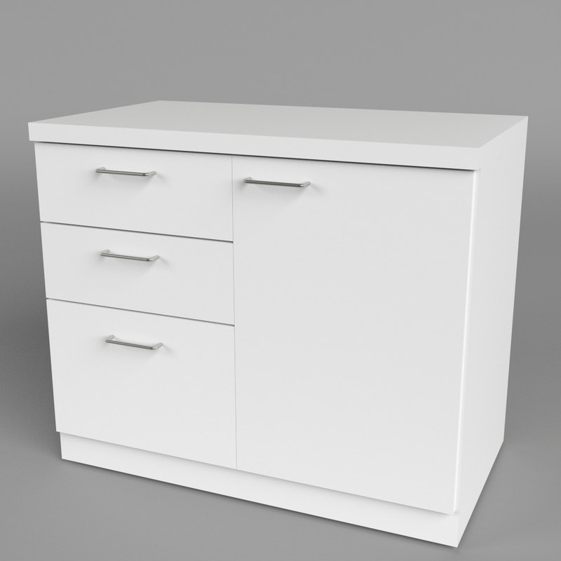 office chest drawers 1 3d model