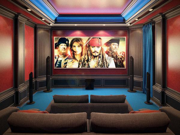 theater home interior max
