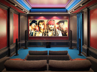 Home Theater Interior v3