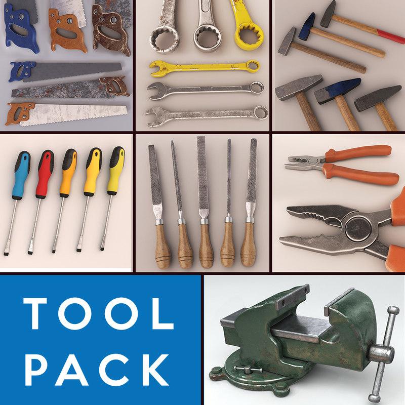 3d model tools pack