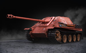 3ds jagdpanther red