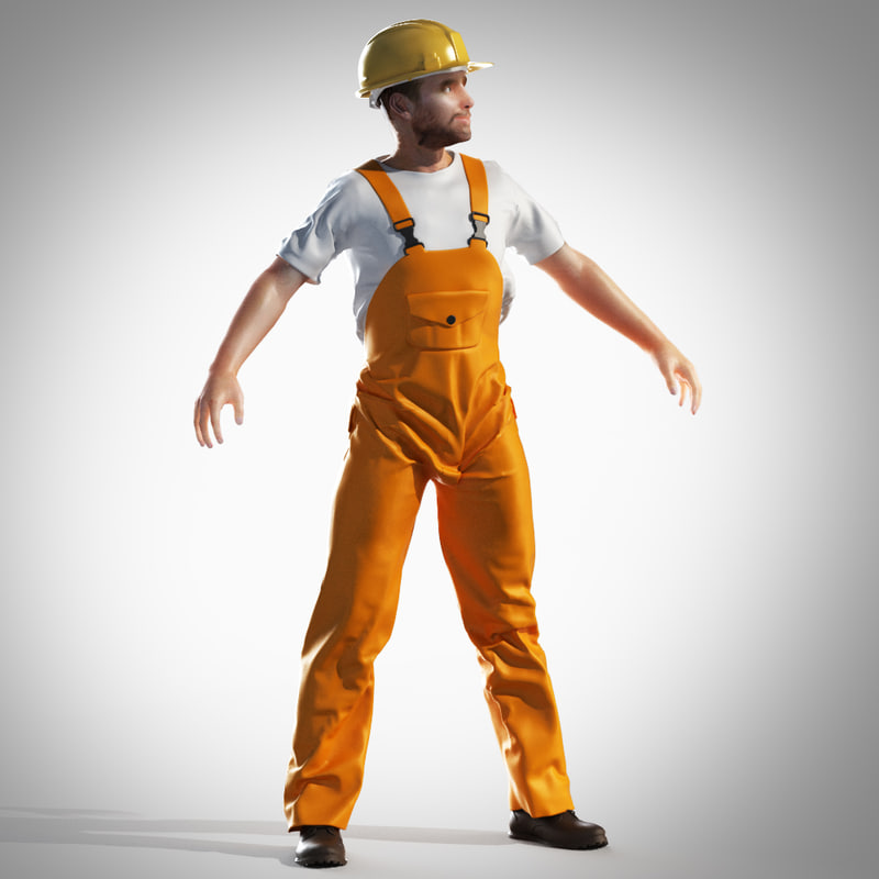 construction builder obj
