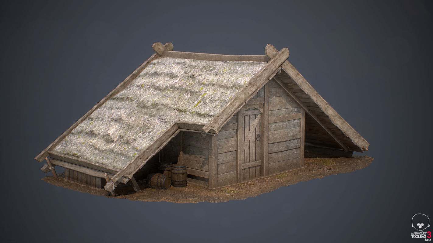 medieval village house 2 3ds