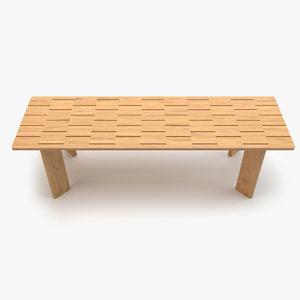 roda brick extendable table max