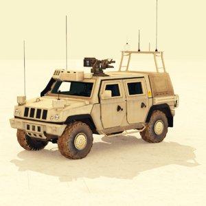 command lmv panther clv 3d model