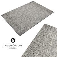 Carpet HouseDoctor chodnik-tkany-flower