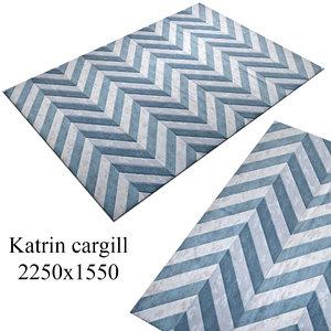 carpet rug 3d obj