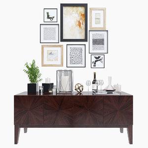 3d decorative set williams-sonoma