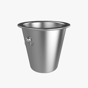 3d model ice bucket