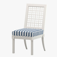 3d quadratl dining chair
