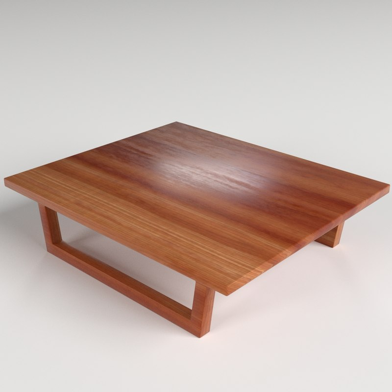 3d model small table 1