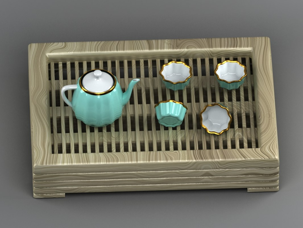 chinese tea set max