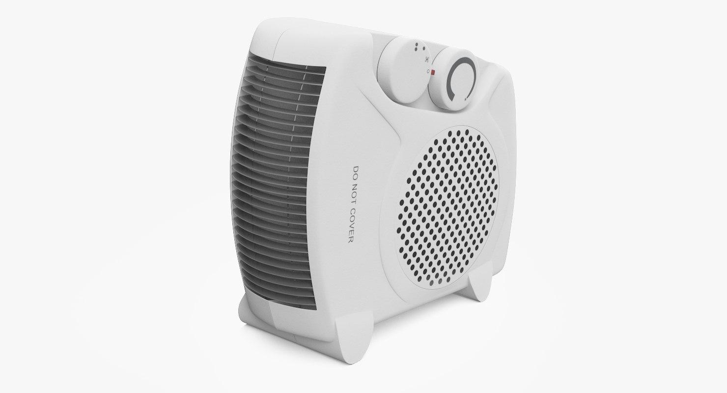 electric fan heater max