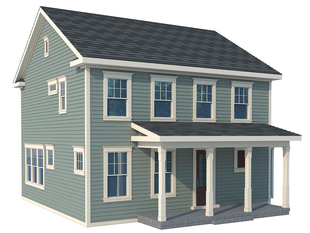home roof 3d model