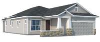 3d home roof model