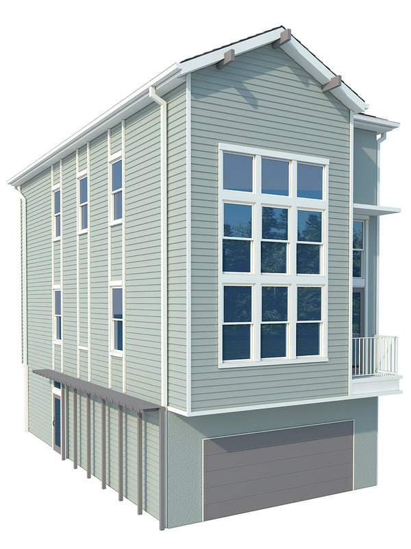 home roof 3d max