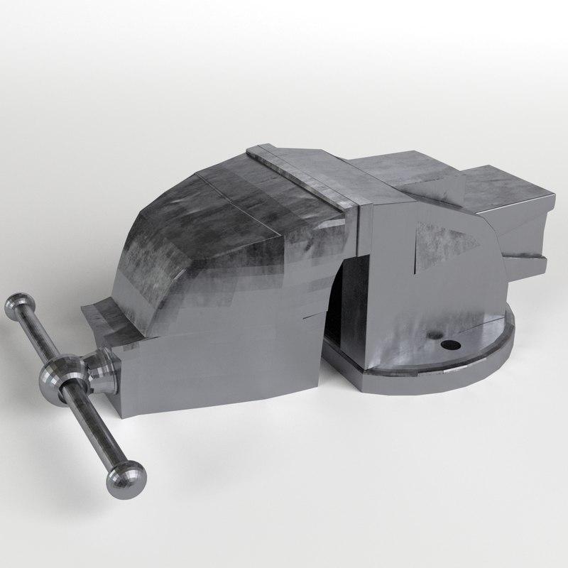 3d table vise clamp