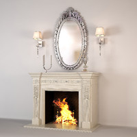3ds max fireplace alexandria