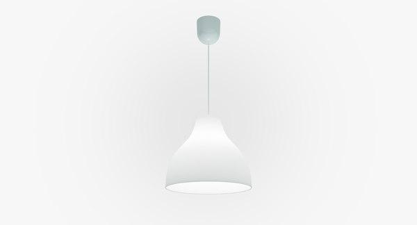 chandelier melodi ikea lighting c4d