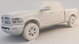 ram 2500 laramie 3D model