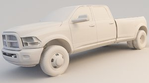 pickup ram 3500 3D