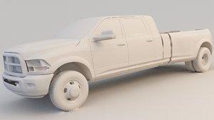 3D ram 5500 laramie model