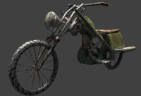 ready motorcycle obj