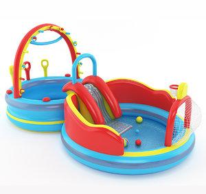 3d model inflatable kid pool