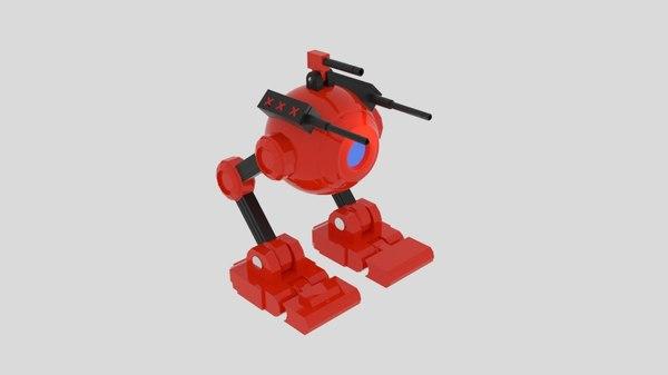 obj spherobot robot bot