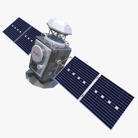 3d model generic satellite real
