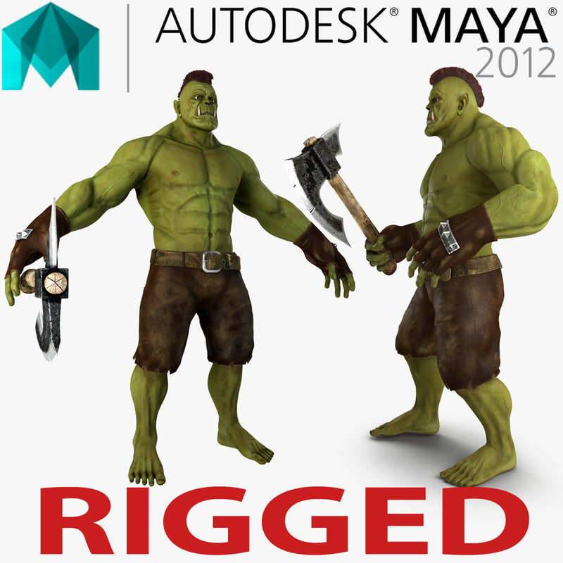orc rigged ma