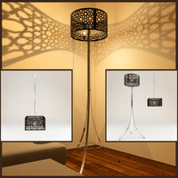 3d 3ds moorish lampe