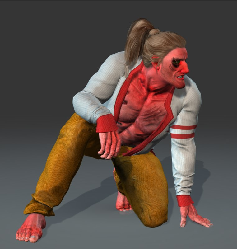 3d model urethral man