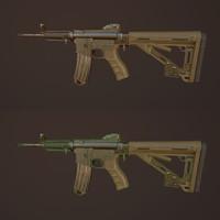 m4 carbine 3d ma