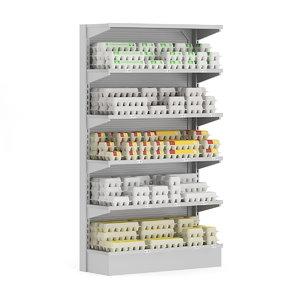 supermarket shelf eggs max