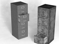 file cabinet 3d model