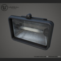 flood light 3d max