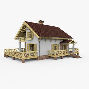 european house 3ds