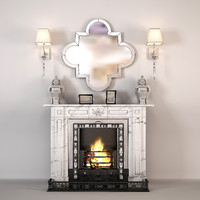 max fireplace art deco