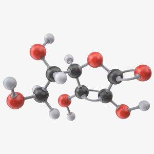 acid molecule ascorbic vitamin 3ds
